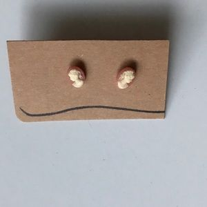 Jewelry - Cameo Face Earrings